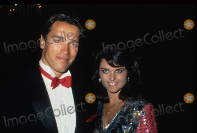 Maria Shriver Photo - Maria Shriver Arnold Schwarzenegger 1984 N3190 Photo by Bob V Noble-Globe Photos Inc
