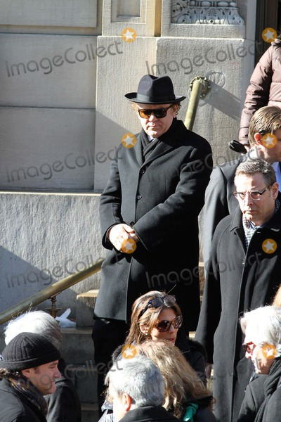 Phillip Seymour Hoffman Photo - Phillip Seymour Hoffman Funeral at St Ignatius Loyola Church in Manhattan Bruce Cotler 2014 John C Reilly