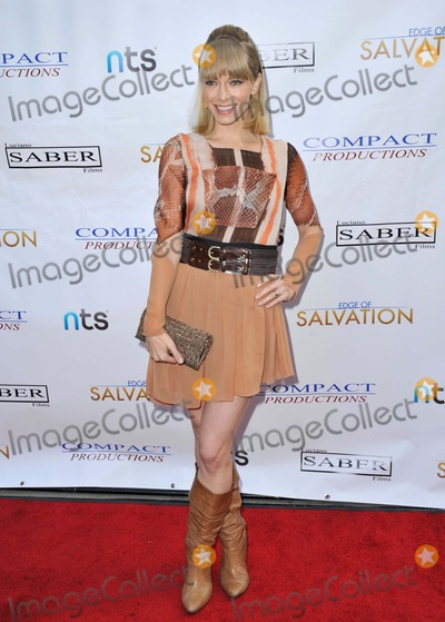 Edge Photo - Stephanie Drapeau attending the Los Angeles Premiere of Edge of Salvation Held at the Arclight Theater in Hollywood California on December 6 2012 Photo by D Long- Globe Photos Inc