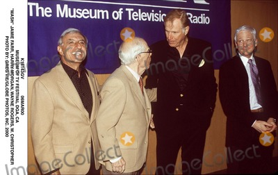 Jamie Farr Photo - 06mar00 Museum of Tv Festival Dga CA Mash Jamie Farr Harry Morgan Wayne Rogers W Christopher Photo by Greg VieGlobe Photos Inc