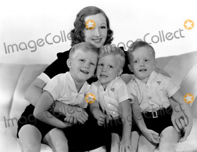 Bing crosby picture bing crosbys family his wife dixie lee and their