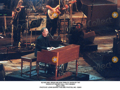 Brian Wilson Photo -  Brian Wilson Tribute Given by Tnt Radio City Music Hall NYC 032901 Billy Joel Photo by John BarrettGlobe Photos Inc