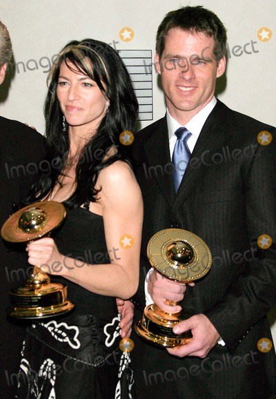 Ben Browder Photo - Annual Saturn Awards - Press Room - Universal Hilton Hotel Hollywood CA - 05-03-2005 - Photo by Nina PrommerGlobe Photos Inc2005 - K42956np Claudia Black Ben Browder