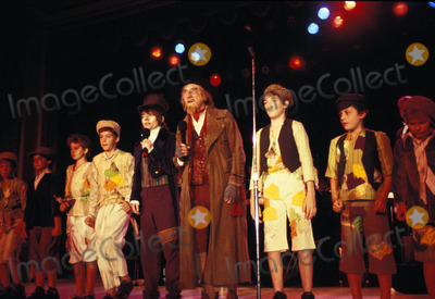 Jack Wild Photo - Jack Wild with Ton Moody and the Oliver Kids 08-1987 Photo by Michelson-Globe Photos