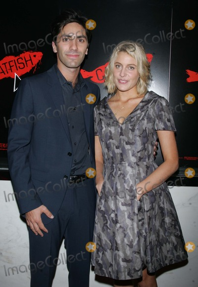 Nev Schulman Photo - Nev Schulman and Greta Gerwick Arrives For the Premiere of Catfish at the Paris Theatre in New York 09-13-2010 Photo by Sharon NeetlesGlobe Photos Inc