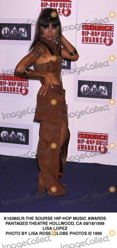 Lisa Lopes Photo - the Sourse Hip-hop Music Awards Pantages Theatre Hollwood CA 08181999 Lisa Lopez Photo by Lisa Rose Globe Photos