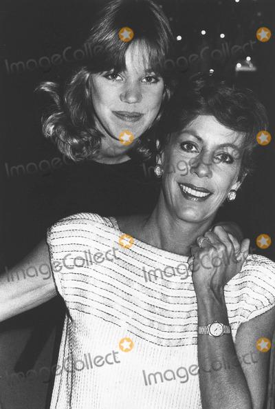Burnett Daughter Carol Burnett With Daughter