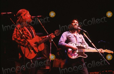 Waylon Jennings Photo - Waylon Jennings and Willie Nelson PhotoGlobe Photos Inc