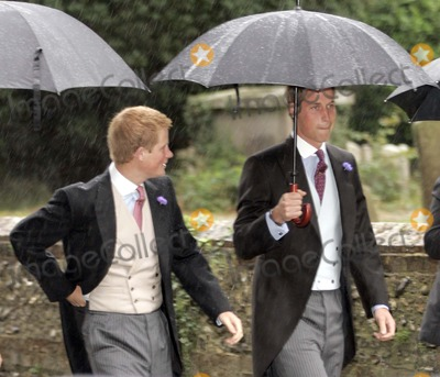 SARAH BUYS Photo - Tom Parker Bowles  Sarah Buys Wedding-stnicholas Church Rotherfield Greys Nrhenley-on-thames Oxfordshire England Uk Mark Chilton-globelinkukcom-Globe Photos Inc 001586 09-10-2005 Prince William  Prince Harry