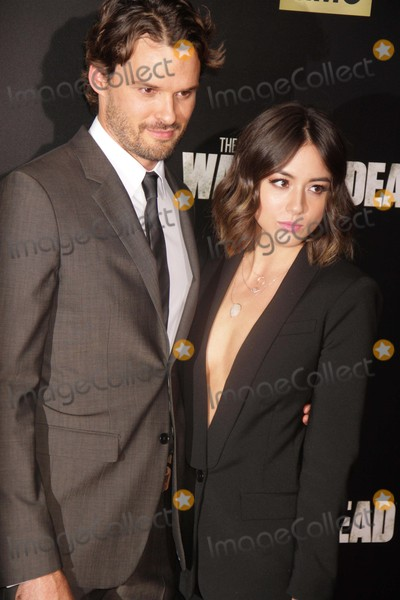 Chloe Bennet Photo - Austin Nicholschloe Bennet at Amc Season Six Debut of the Walking Dead at Fan Premiere Event at Madison Square Garden 10-9-2015 John BarrettGlobe Photos