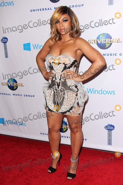 Ashanti Douglas Photo - Ashanti Douglas attends Universal Music Group Post Grammy Party on January 26th 2014 at the Theatre at Ace in Los Angelescaliforniausa PhototleopoldGlobephotos