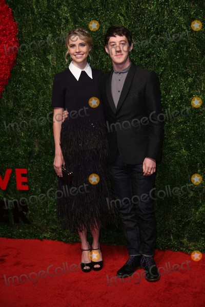 Alex Sharp Photo - Wallis Currie-wood and Alex Sharp attends the Gods Love We Deliver 2015 Golden Heart Awards Spring Studios NYC October 15 2015 Photos by Sonia Moskowitz Globe Photos Inc