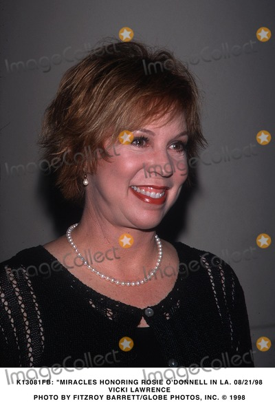 Vicki Lawrence Photo -  Miracles Honoring Rosie Odonnell in LA 082198 Vicki Lawrence Photo by Fitzroy BarrettGlobe Photos Inc