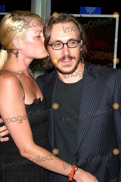 Chad Donella Photo - Premiere Hate Crime the Regent Showcase Los Angeles CA 07-15-05 Photo by Milan RybaGlobe Photosinc 2005 Chad Donella and Fiance Joni Bertin