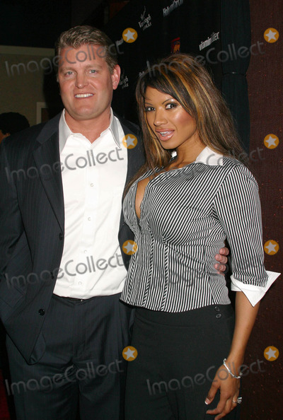 Tracy Bingham Photo - Hollywood Car Club Launch Party Chi Restaurant West Hollywood California 031004 Photo by Clinton H WallaceipolGlobe Photos Inc2004 Traci Bingham and John Yarbough - Her Fiance