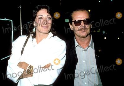 Angelica Houston Photo - Jack Nicholson_angelica Houston Photo ByGlobe Photos Inc