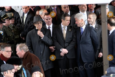 Bill Clinton Photo - Funeral For Former New York City Mayor Edward I Koch Held at Temple Emanu - El in Manhattan Bruce Cotler 2013 Former Governor Mario Cuomo  Governor Andrew Cuomo  Former President Bill Clinton Photo by Bruce Cotler-Globe Photos Inc