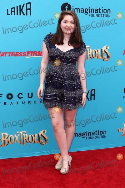 Emma Kenney Photo - Emma Kenney attends Los Angeles Premiere of the Boxtrolls on September 21st 2014 at Universal Citywalk - Iuniversal Citycaliforniausaphototleopold Globephotos