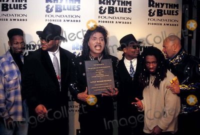 Little Richard Photo - 5th Annual Pioneer Awds Little Richard with Terry Lewis and Jimmy Jam Photo John Barrett - Globe Photos Inc