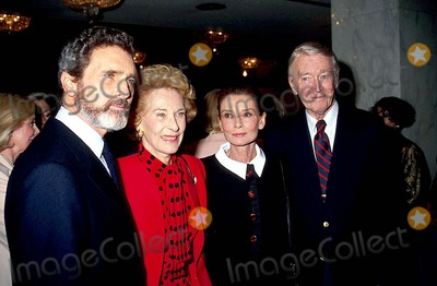 James Stewart Photo - 1991 Robert Wolders Gloria Stewart Audrey Hepburn and James Stewart Craig SkinnerGlobe Photos Inc