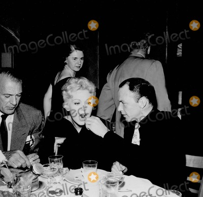 Gary Cooper Photo - Frank Sinatra with Gary Cooper and Kim Novak Photo by Nate Cutler-Globe Photos Inc