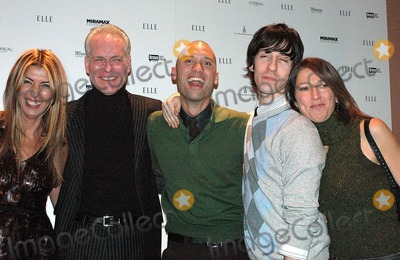 Andrae Gonzalo Photo - K46188KRELLE PROJECT HOSTS VIEWING PARTY FOR 2ND SEASON PREMIERE OF BRAVOS PROJECT RUNWAY AND LAUNCH OF PROJECT RUNWAY MAGAZINE AER NEW YORK CITY 12-07-2005PHOTO BY KEN RUMMENTS-GLOBE PHOTOS 2005NINA GARCIA (FASHION DIRECTOR OF ELLE) WITH TIM GUNN ANDRAE GONZALO