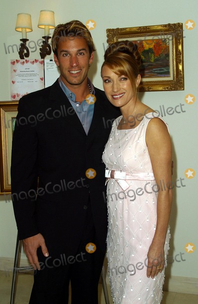 Dan Cortese Photo - Jane Seymour with Dan Cortese - City Hearts Fundraiser at the Truffle Dinner - Estate of Jane Seymour Malibu CA - February 01 2003 - Photo by Nina PrommerGlobe Photos Inc2003