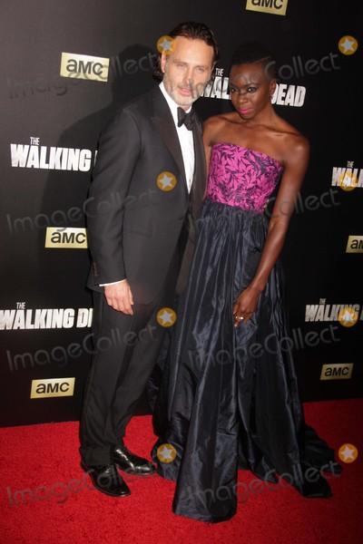 Danai Gurira Photo - Andrew Lincolndanai Gurira at Amc Season Six Debut of the Walking Dead at Fan Premiere Event at Madison Square Garden 10-9-2015 John BarrettGlobe Photos