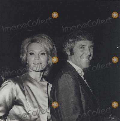Burt Bacharach Photo - Angie Dickinson Burt Bacharach in Hollywood C 1970 Supplied by Globe Photos Inc