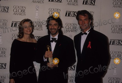 Al Pacino Photo - Patrick Swayze with Al Pacino Jodie Foster the 50th Annual Golden Globe Awards at Beverly Hilton Hotel in Beverly Hills 01-23-1993 L4711mf Photo by Michael Ferguson-Globe Photos Inc