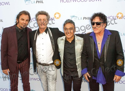 Arnel Pineda Photo - Jonathan Cainross Valoryarnel Pinedaneal Schon Attend Hollywood Bowl Opening Night Celebrationjune 20th-2015 Los Angeles californiausaphotoleopoldGlobephotos