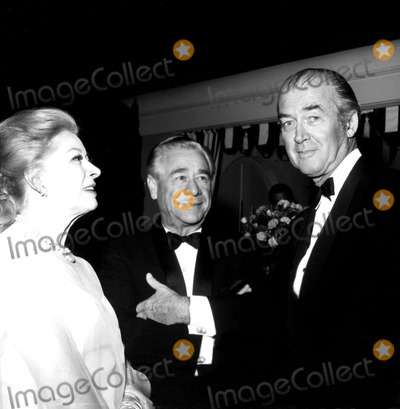 James Stewart Photo - Greer Garson Buddy Fogelson and James Stewart a938-21 Nate CutlerGlobe Photos Inc