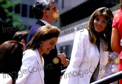 Jacqueline Kennedy Onassis Photo - Jacqueline Kennedy Onassis and Caroline Photo Byjohn BarrettGlobe Photos Inc 1990 Jacquelinekennedyonassisretro