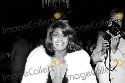 Tina Turner Photo - Tina Turner attending an Event Honoring Bette Davis 1977 2420 Bob NobleGlobe Photos Inc