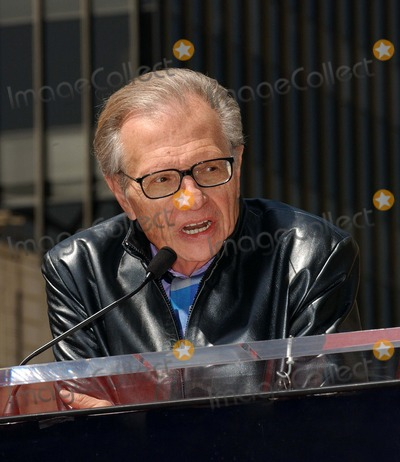Larry King Photo - Ryan Seacrest Honored with a Star on the Hollywood Walk of Fame Hollywood CA 04-20-2005 Photo by Fitzroy BarrettGlobe Photos Inc 2005 Larry King