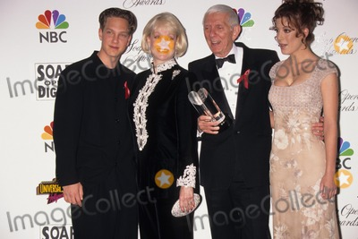 Aaron Spelling Photo - Tori Spelling with Father Aaron Spelling  Mother Candy Carol Jean Marer Spelling and Brother Randy Spelling 13th Annual Soap Opera Digest Awards in Los Angeles 1997 Photo by Fitzroy Barrett-Globe Photos Inc
