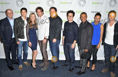 Giancarlo Esposito Photo - Eric Kripke Jd Pardo Tracy Spiridakos Billy Burke Jon Favreau Jj Abrums Giancarlos Esposito David Lyons attending the 30th Annual Paleyfest Revolution Held at the Saban Theater in Beverly Hills California on March 2 2013 Photo by D Long- Globe Photos Inc
