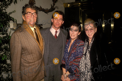 Jeanne Martin Photo - Dean Martin with Ricci Daughter and Jeanne Martin 12-1987 Photo by Michelson-Globe Photso