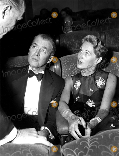 James Stewart Photo - James Stewart and Wife Gloria 1956 SmpGlobe Photos Inc