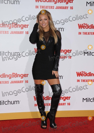 Nikki Leigh Photo - Nikki Leigh attending the Los Angeles Premiere of the Wedding Ringer Held at the Tcl Chinese Theatre in Hollywood California on January 6 2015 Photo by D Long- Globe Photos Inc