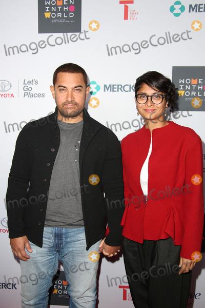 Aamir Khan Photo - Women in the World Sixth Annual Summit the David H Koch Theater Lincoln Centernyc April 22 2015 Photos by Sonia Moskowitz Globe Photos Inc 2015 Aamir Khan