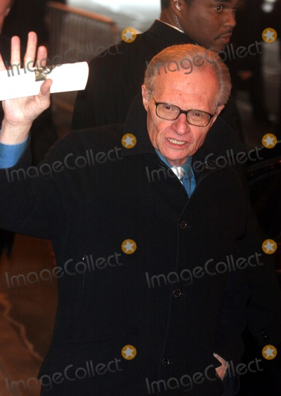 Larry King Photo - Memorial Service For Christopher Reeve the Juilliard School New York City 10292004 Photo by John BarrettGlobe Photos 2004 Larry King