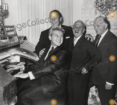 Jimmy Durante Photo - Liberaceart Linkletterjimmy Duranteedgar Bergen Liberace Party Photo Nate CutlerGlobe Photos Inc