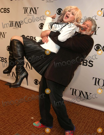 Cyndi Lauper Photo - The 2013 Tony Award Nomination Press Breakfast the Millenium Hotel NYC May 1 2013 Photos by Sonia Moskowitz Globe Photos Inc 2013 Cyndi Lauper Harvey Fierstein