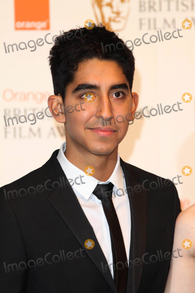 Dev Patel Photo - Actor Dev Patel Poses in the Winners Pressroom of the Orange British Academy Film Awards Aka Baftas at Royal Opera House in London Great Britain on 13 February 2011 photo Alec Michael-globe Photos Inc