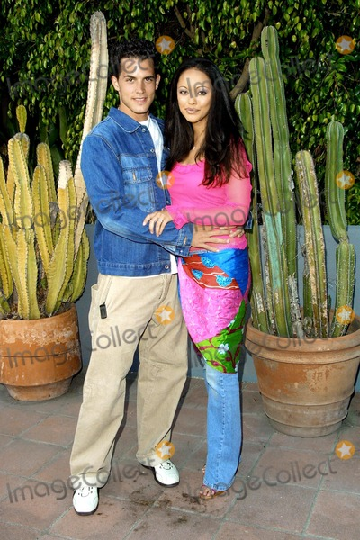 Nathan Lavezoli Photo - Marisa Ramirez and Fiance Nathan Lavezoli (They Plan to Get Married in September) Laker Party Hosted by Hennessy Xo Cognac at the Home of Kelly Perine Los Angeles CA June 12 2002 Photo by Nina PrommerGlobe Photos Inc2002
