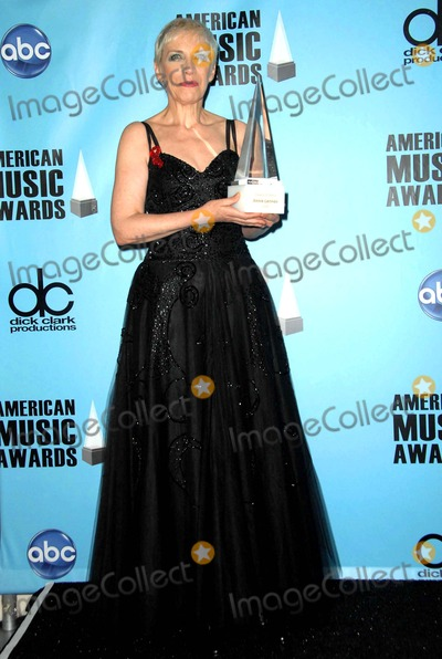 ANNIE LENOX Photo - The 2008 American Music Awards Press Room Held at Nokia Theatre Los Angeles California112308 Annie Lenox