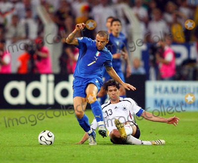 Alessandro Del Piero Photo - Alessandro Del Piero  Michael Ballack Challenge Germany V Italy a Del Piero  M Ballack Germany V Italy K48508 World Cup Soccer World Cup Stadium in Dortmund Germany 07-04-