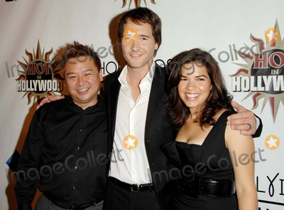 Michael Medico Photo - the 2007 Hot in Hollywood Second Annual Event Held at Henry Fonda Music Box Theaterhollywood CA 8-18-07 Photodavid Longendyke-Globe Photos Inc2007 Image Rex Leemichael Medicoamerica Ferrera