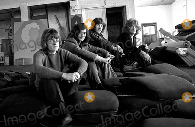 John Bonham Photo - Led Zeppelin in Sanfranisco at the Herb Greene Studio 1969 John Paul Jones Jim Page John Bonham and Robert Plant Photo Bybob StinnettGlobe Photos Inc 1969 Ledzeppelinretro